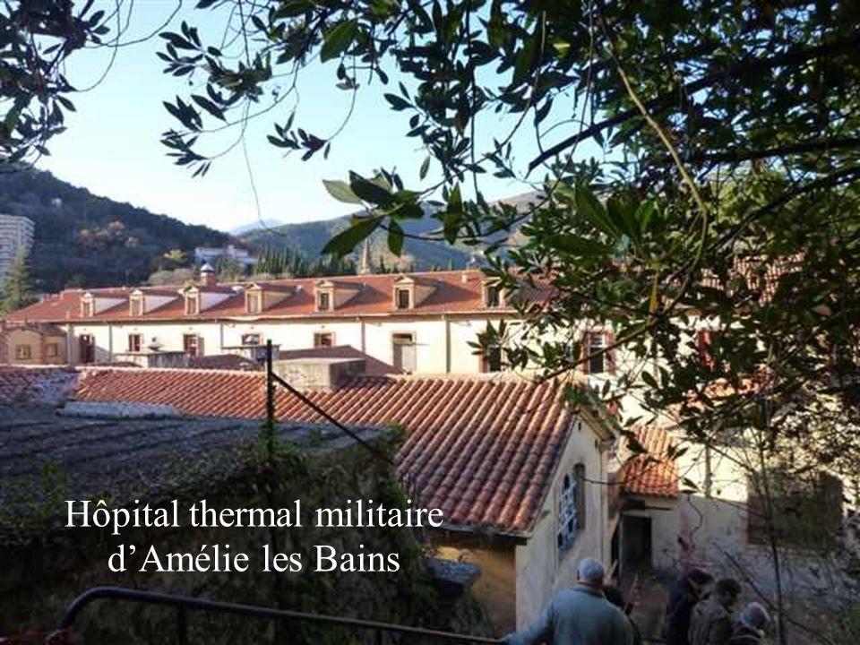 Hôpital thermal militaire d'Amélie les Bains