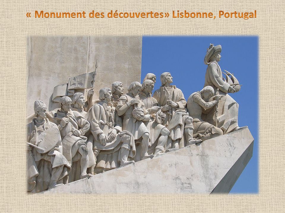 « Monument des découvertes» Lisbonne, Portugal