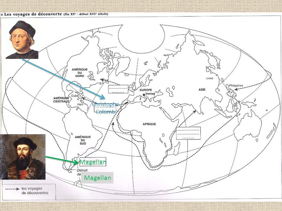 Christophe Colomb Magellan Magellan