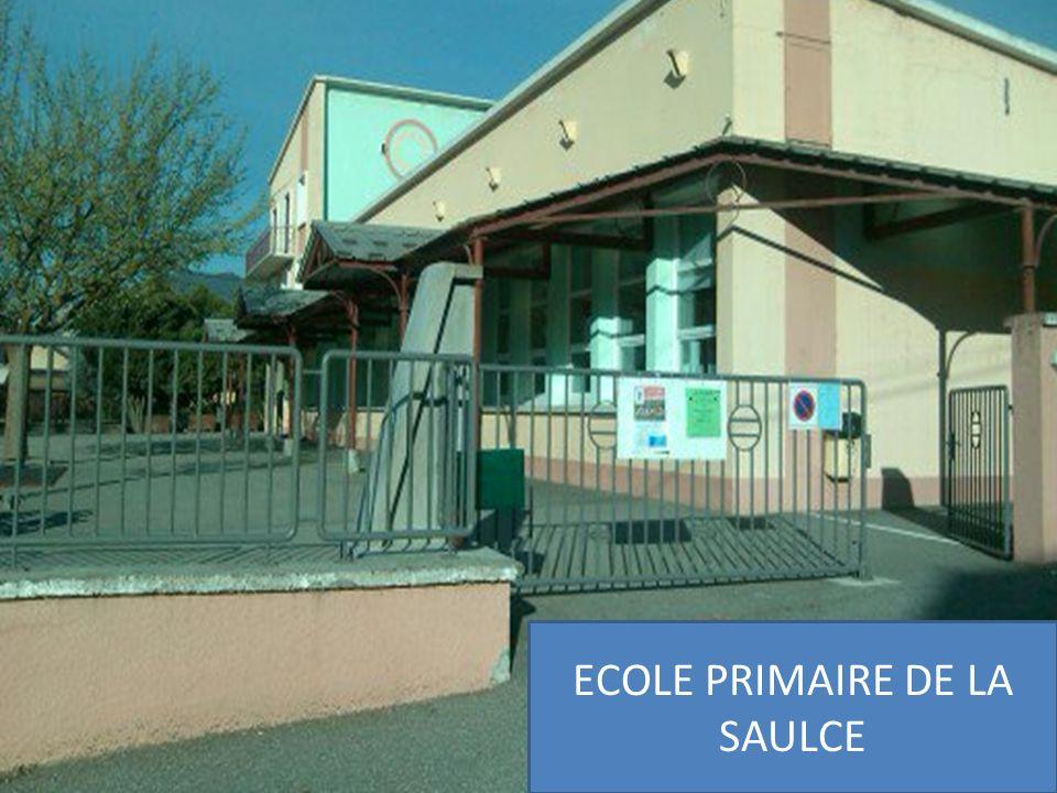 ECOLE PRIMAIRE DE LA SAULCE