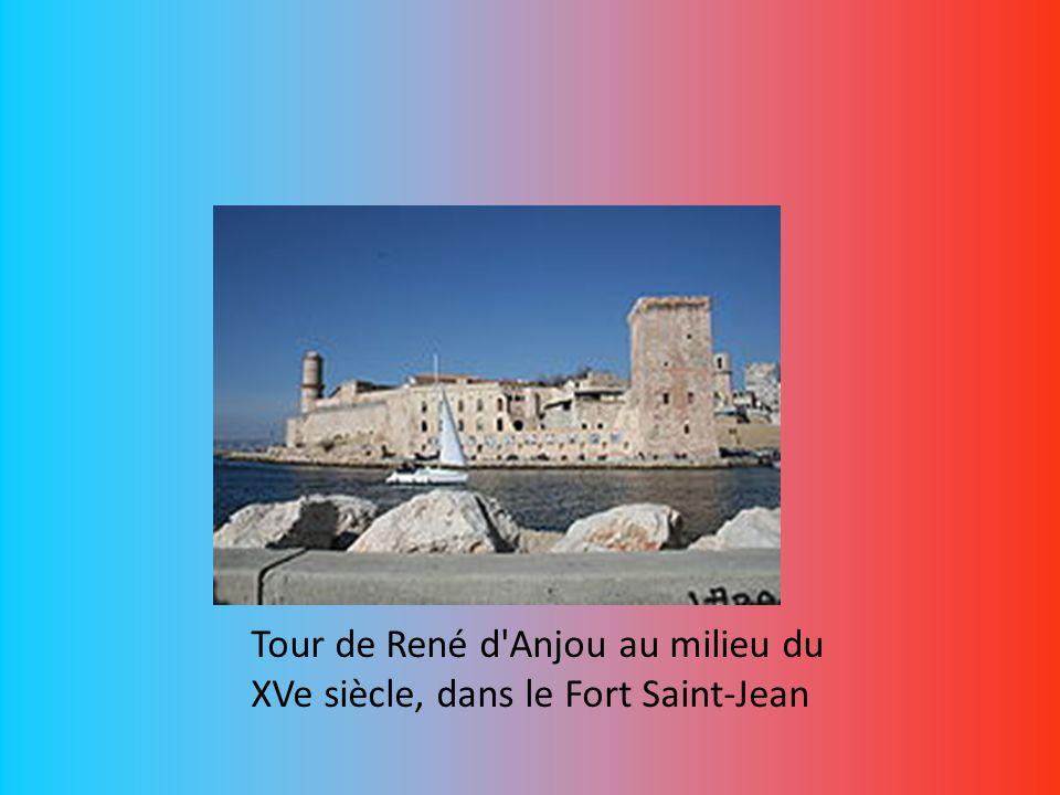 Tour de René d Anjou au milieu du XVe siècle, dans le Fort Saint-Jean