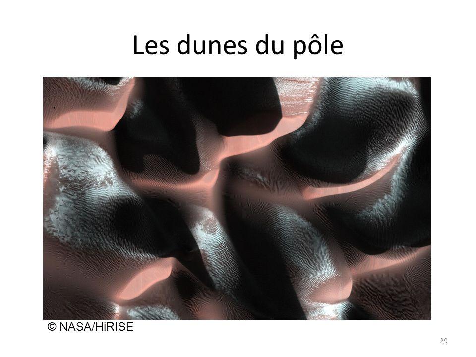 Les dunes du pôle © NASA/HiRISE