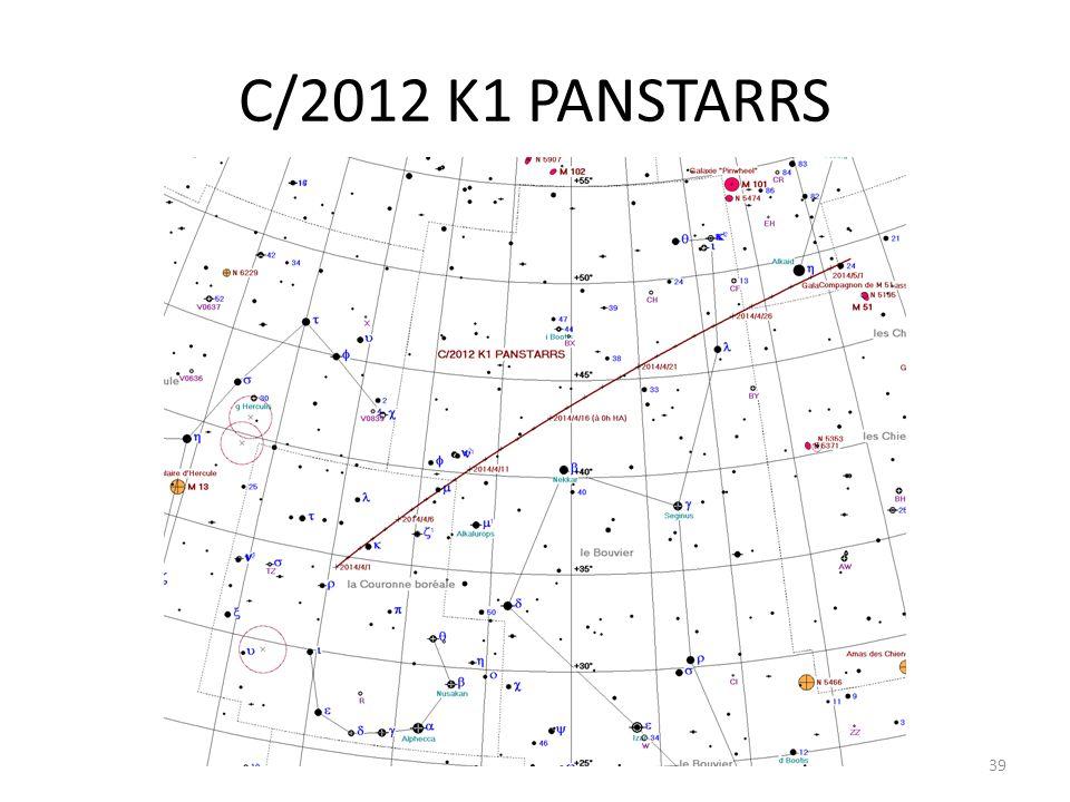 C/2012 K1 PANSTARRS