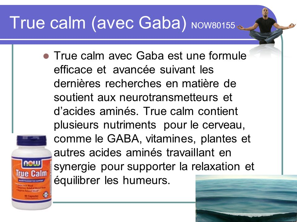 True calm (avec Gaba) NOW80155