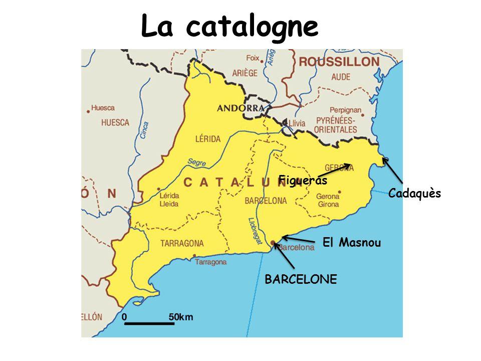 La catalogne Figueras Cadaquès La catallogne El Masnou BARCELONE