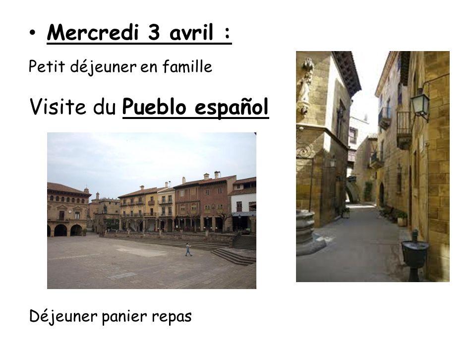 Visite du Pueblo español