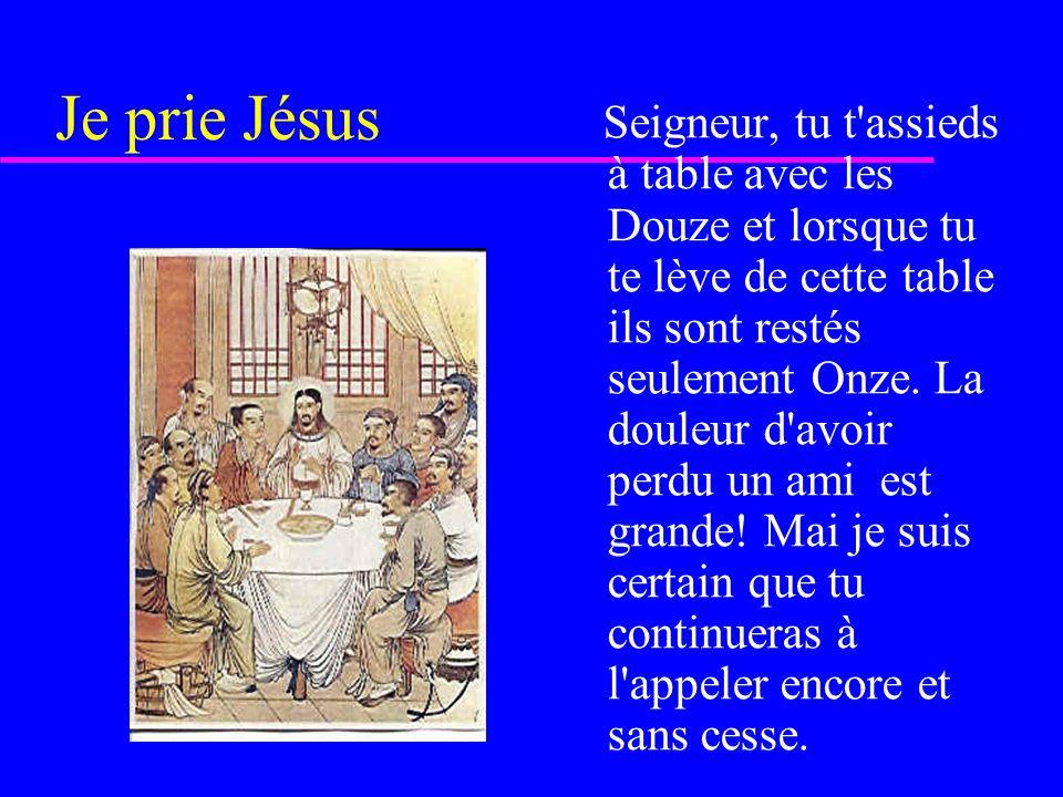 Je prie Jésus