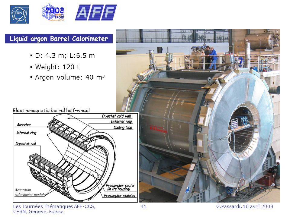Liquid argon Barrel Calorimeter