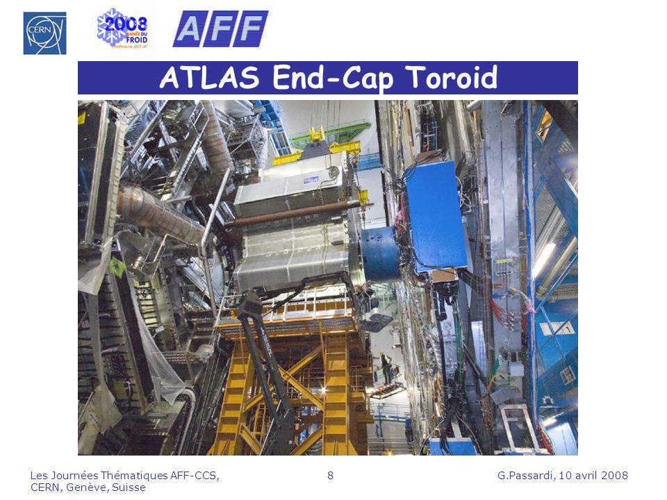 ATLAS End-Cap Toroid Les Journées Thématiques AFF-CCS, CERN, Genève, Suisse.