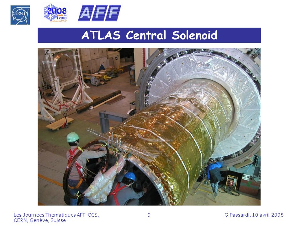 ATLAS Central Solenoid