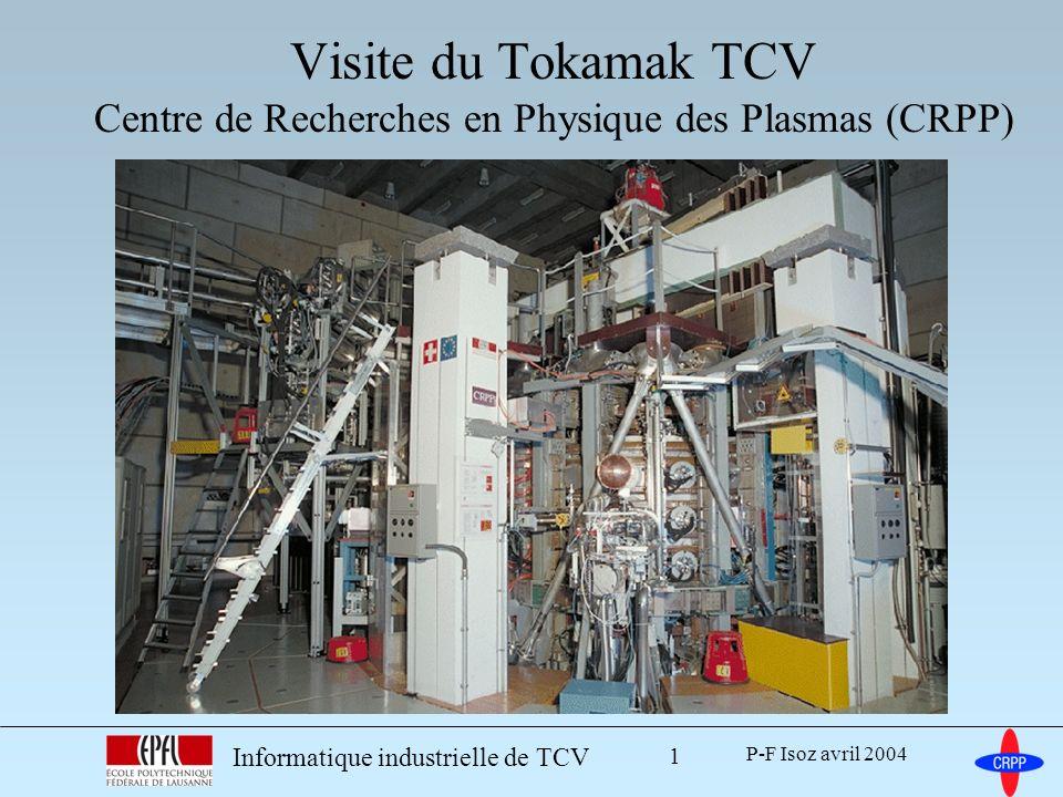 Visite du Tokamak TCV Centre de Recherches en Physique des Plasmas (CRPP)