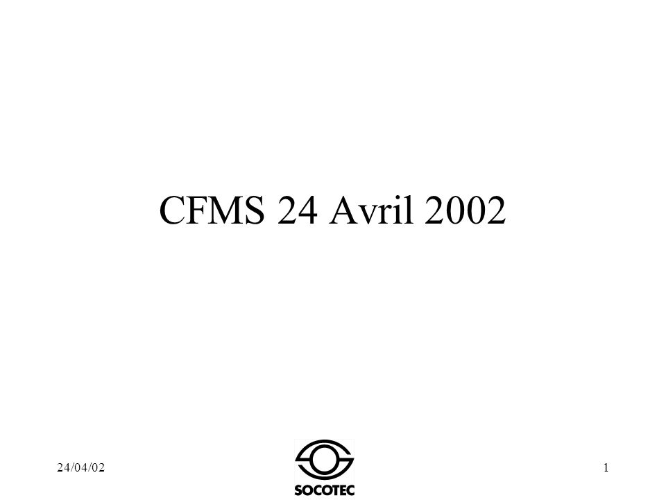 CFMS 24 Avril 2002 24/04/02