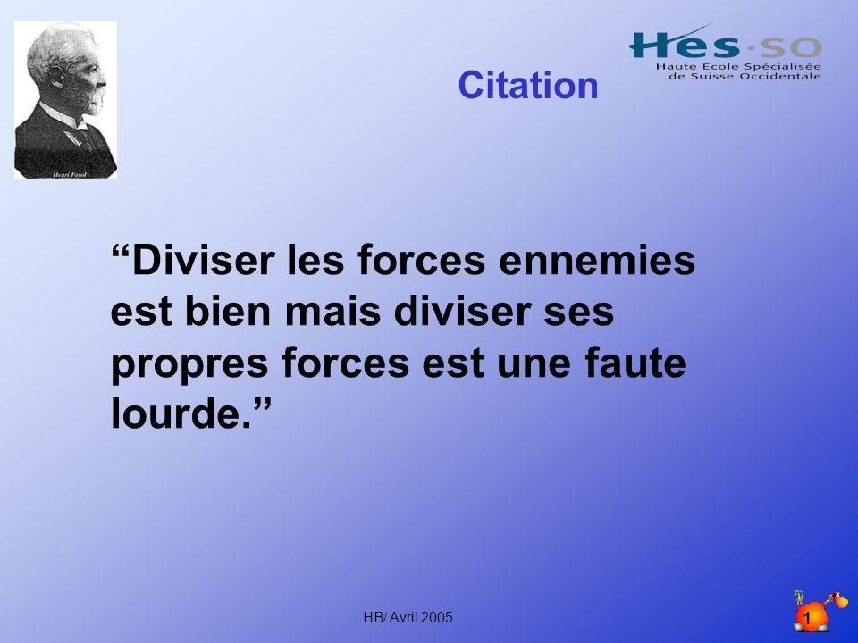 Citation Diviser les forces ennemies est bien mais diviser ses propres forces est une faute lourde.