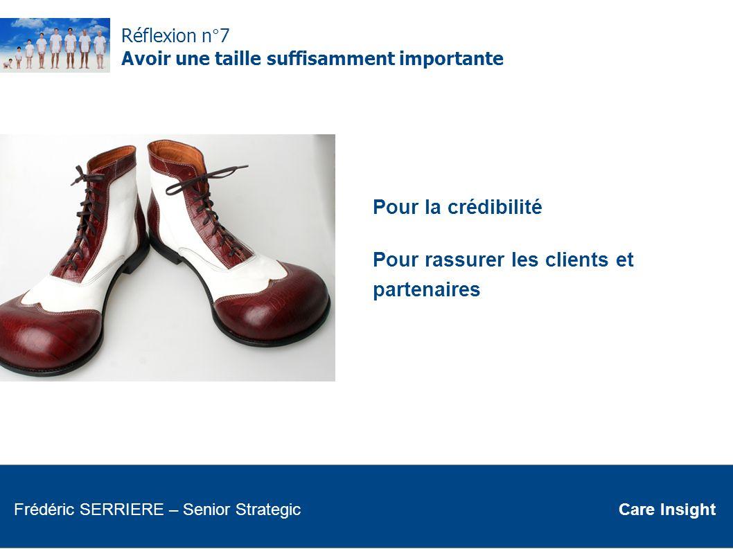 Pour rassurer les clients et partenaires