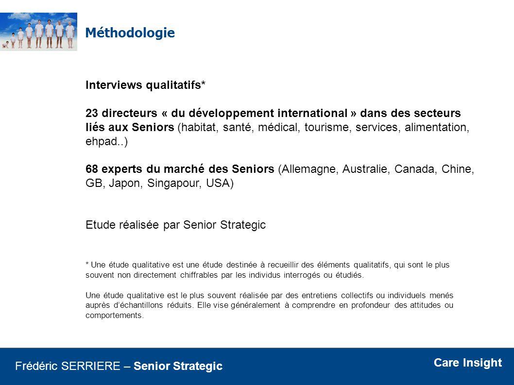Méthodologie Interviews qualitatifs*