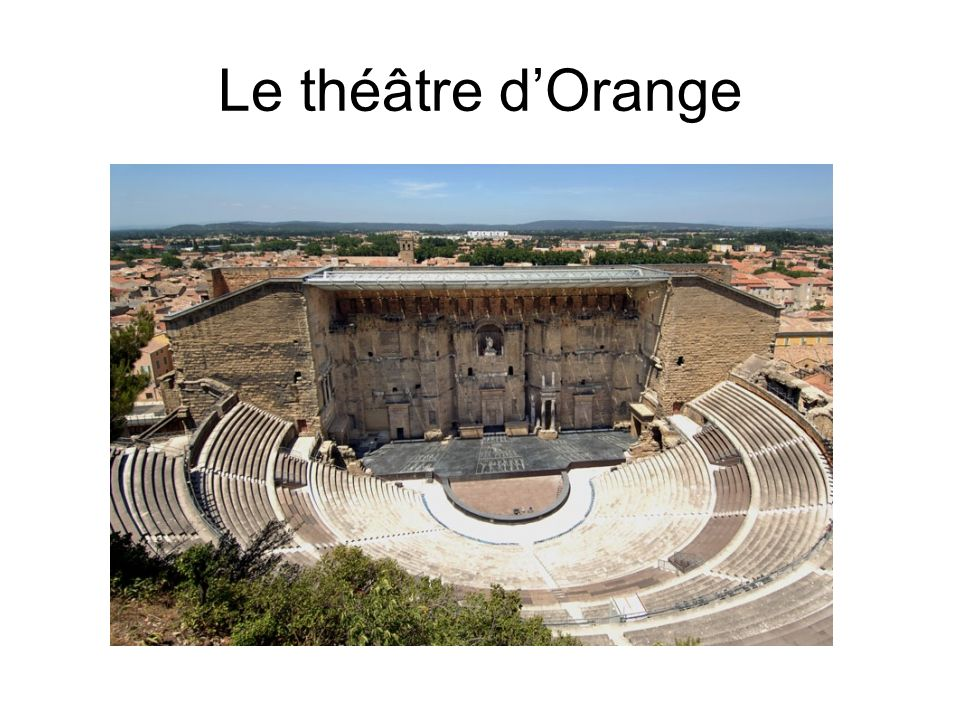 Le théâtre d'Orange