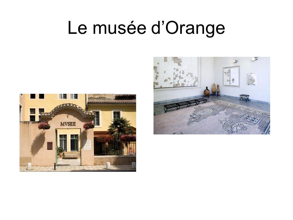 Le musée d'Orange
