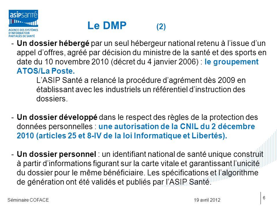 Le DMP (2)