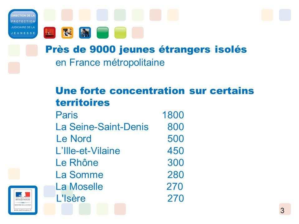 Près de 9000 jeunes étrangers isolés en France métropolitaine