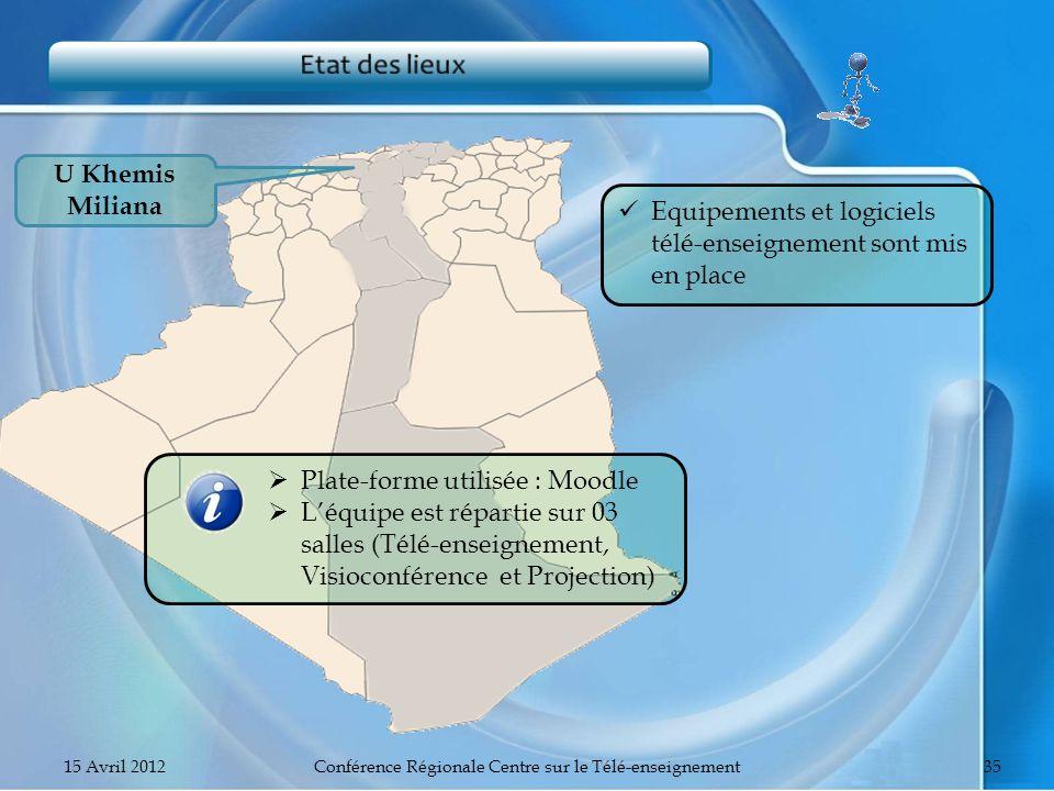 Conférence Régionale Centre sur le Télé-enseignement