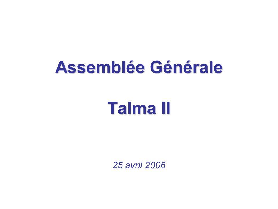 Assemblée Générale Talma II
