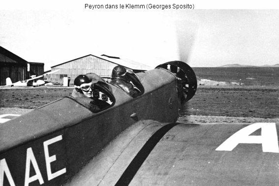 Peyron dans le Klemm (Georges Sposito)
