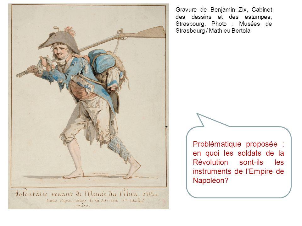 Gravure de Benjamin Zix, Cabinet des dessins et des estampes, Strasbourg. Photo : Musées de Strasbourg / Mathieu Bertola
