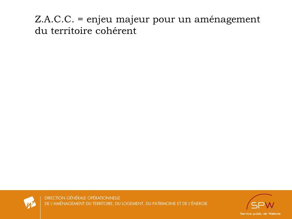 Z.A.C.C. = enjeu majeur pour un aménagement du territoire cohérent