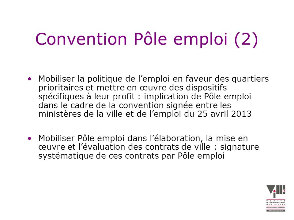 Convention Pôle emploi (2)