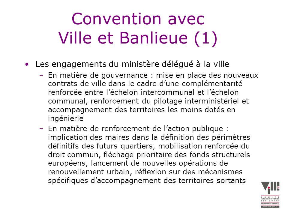 Convention avec Ville et Banlieue (1)