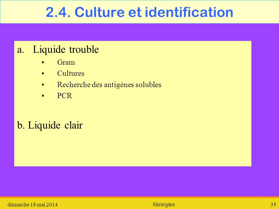 2.4. Culture et identification