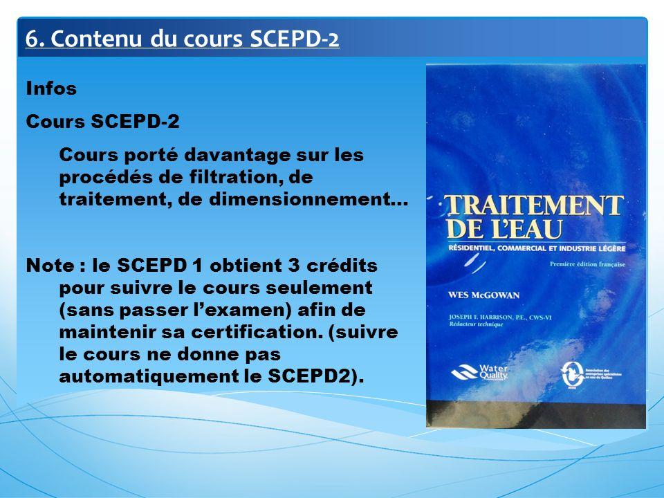 6. Contenu du cours SCEPD-2