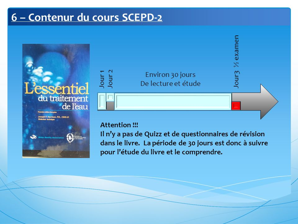 6 – Contenur du cours SCEPD-2