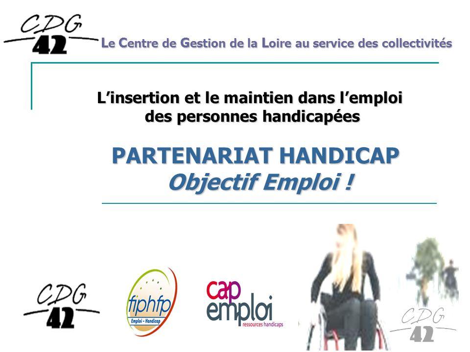 PARTENARIAT HANDICAP Objectif Emploi !