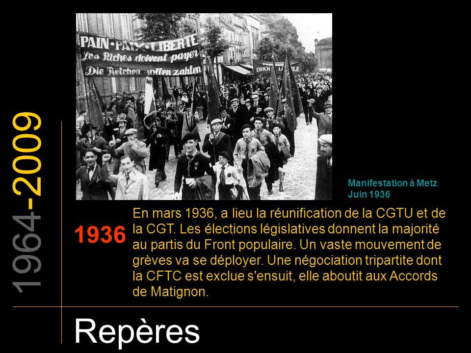 1964-2009 Manifestation à Metz. Juin 1936.
