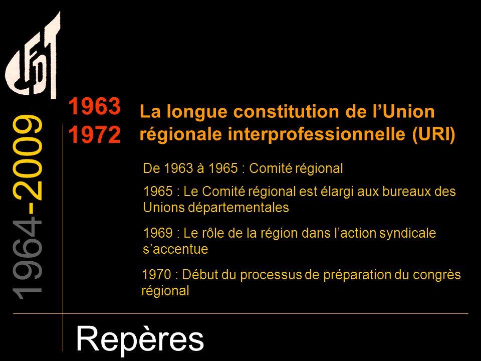 La longue constitution de l'Union régionale interprofessionnelle (URI)