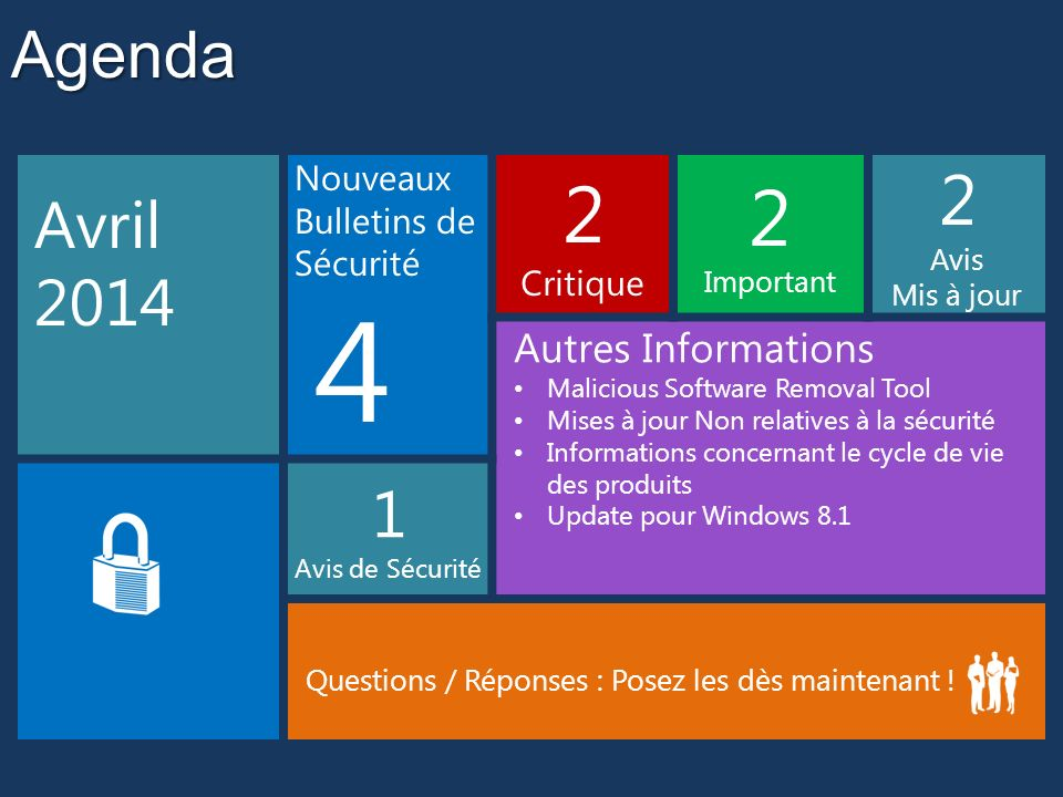 4 2 Agenda Avril 2014 1 Autres Informations