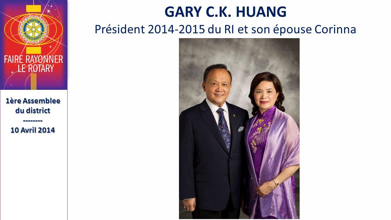 Présidents et Secrétaires Élus 1ère Assemblee du district