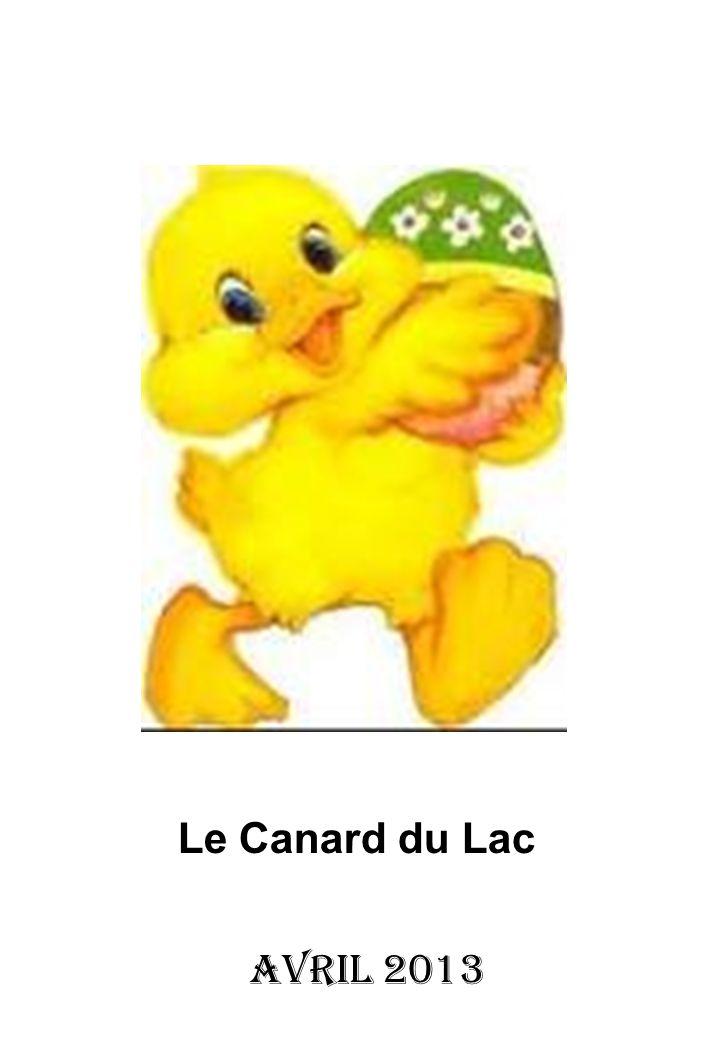 Le Canard du Lac Avril 2013