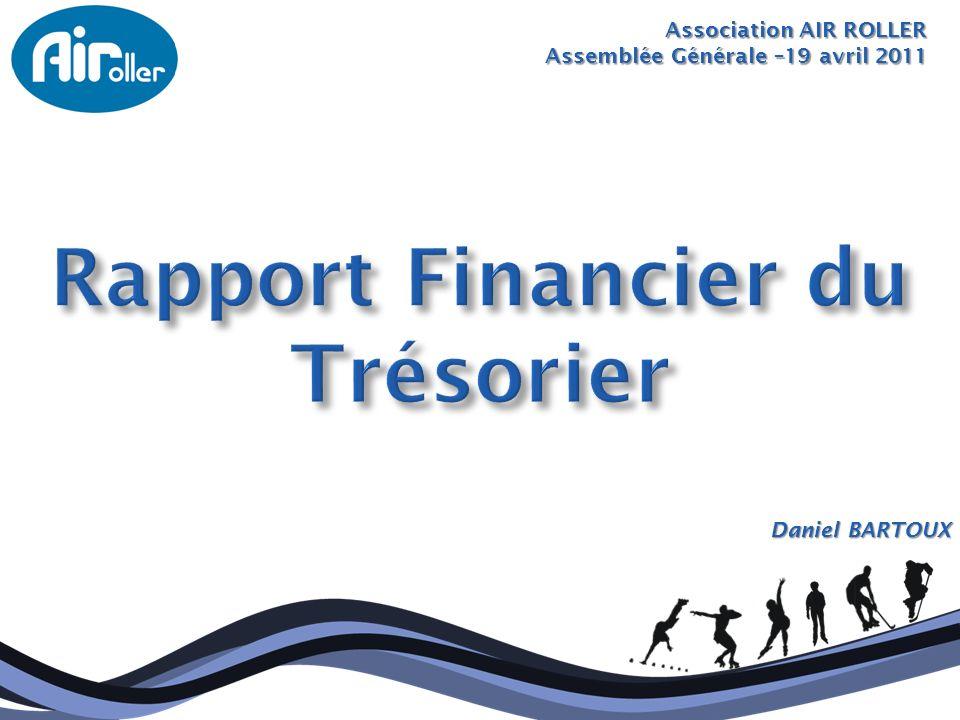Rapport Financier du Trésorier