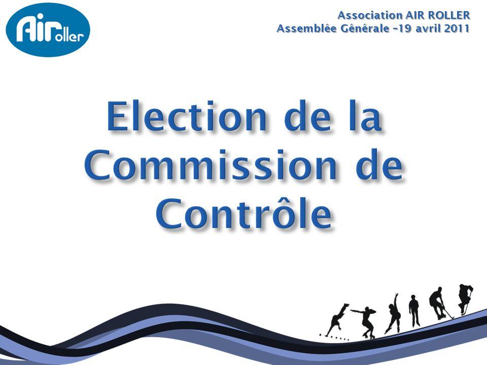 Election de la Commission de Contrôle