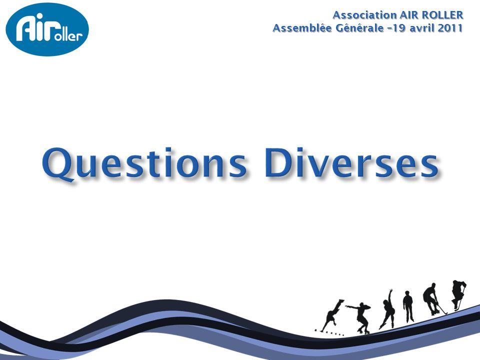 Questions Diverses Association AIR ROLLER
