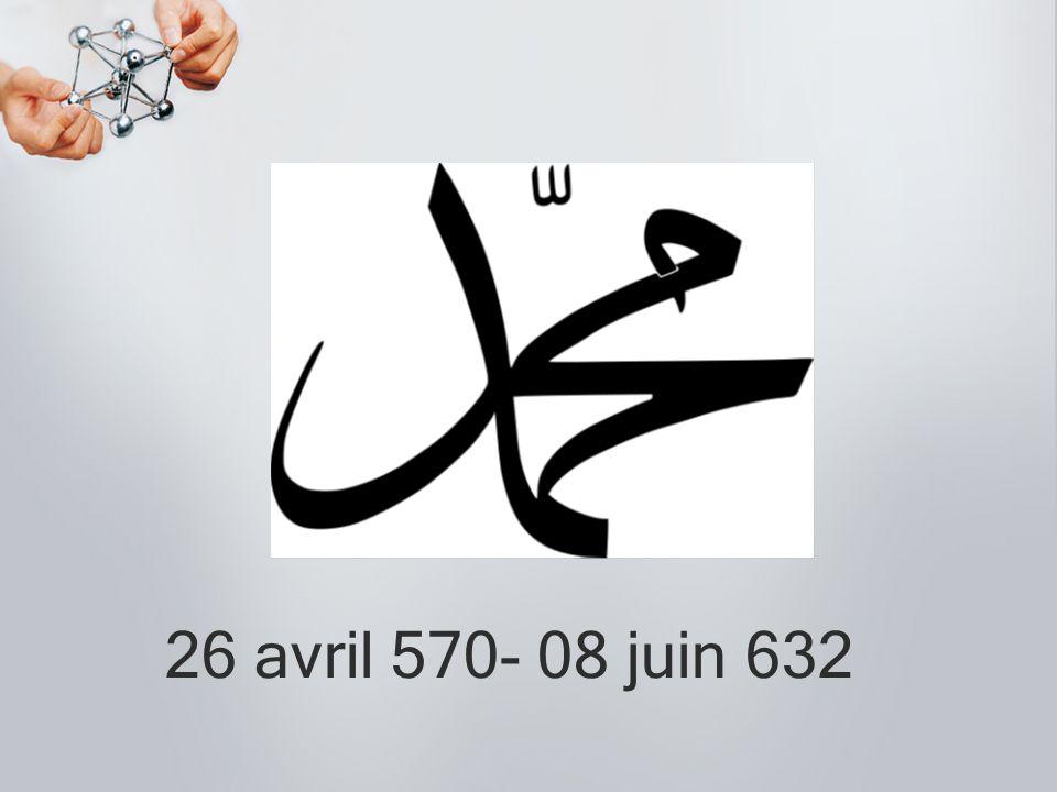 26 avril 570- 08 juin 632