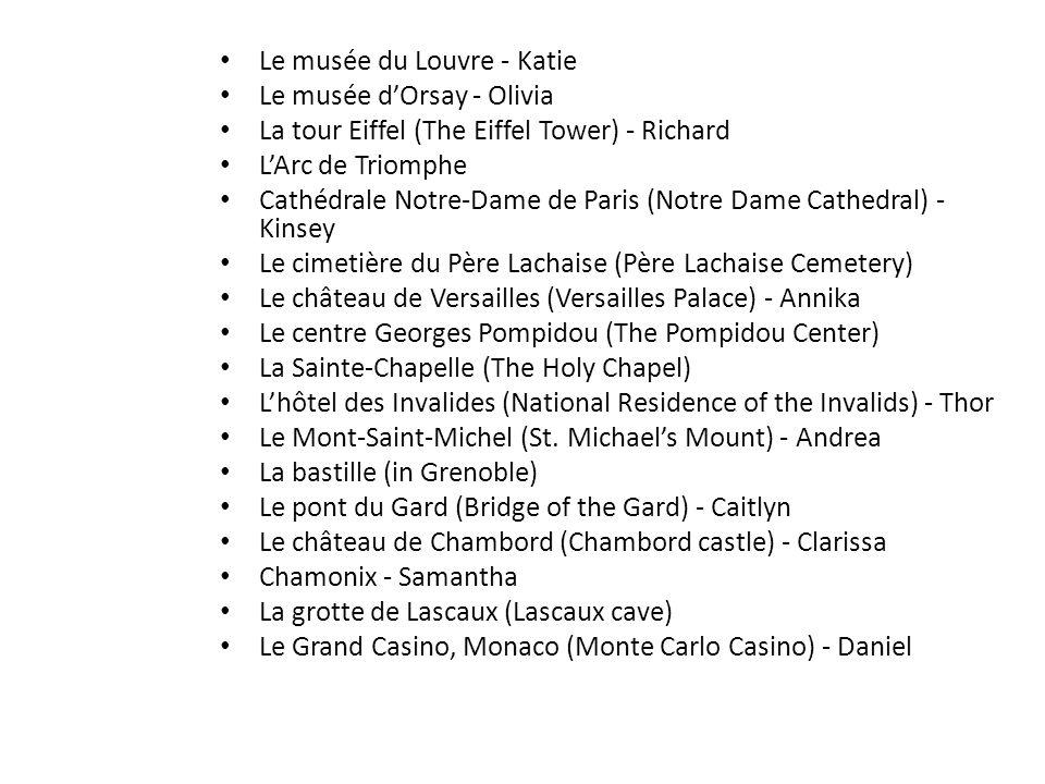 Le musée du Louvre - Katie
