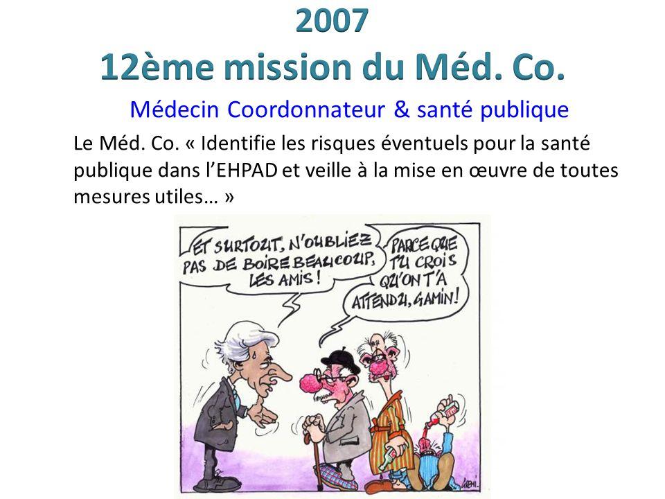 Médecin Coordonnateur & santé publique