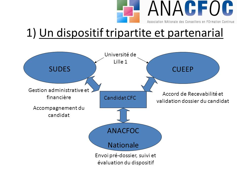 1) Un dispositif tripartite et partenarial