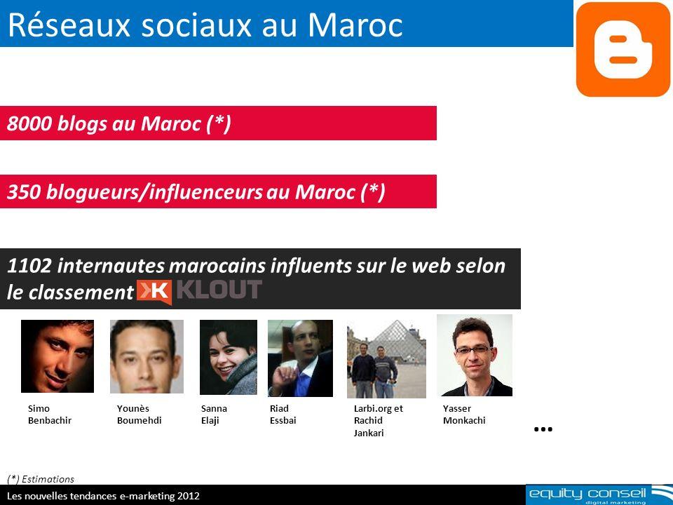 Réseaux sociaux au Maroc