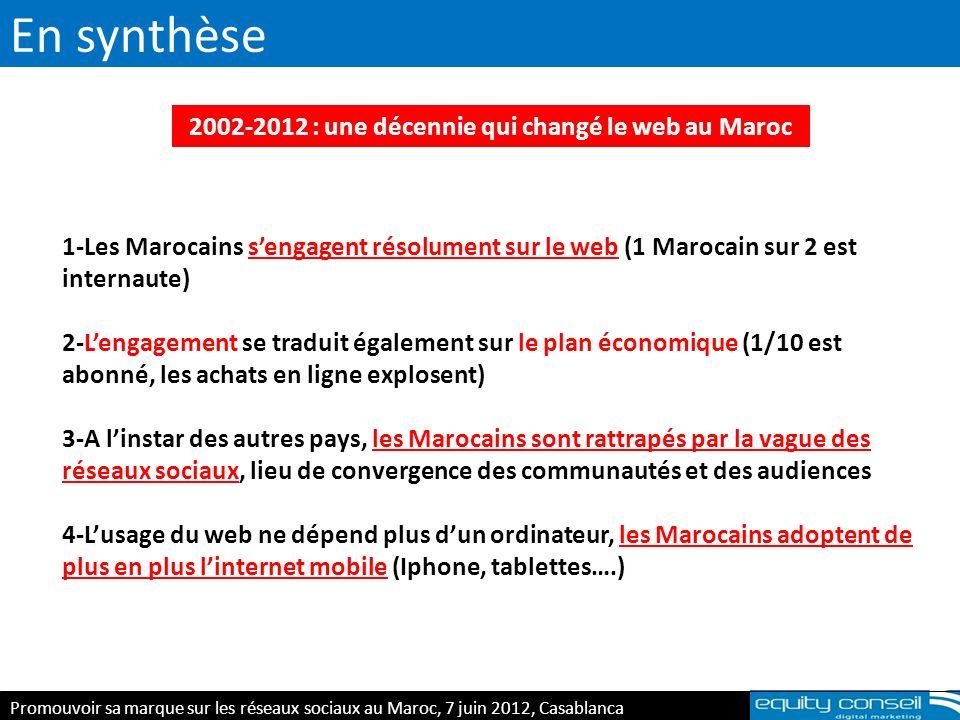 2002-2012 : une décennie qui changé le web au Maroc