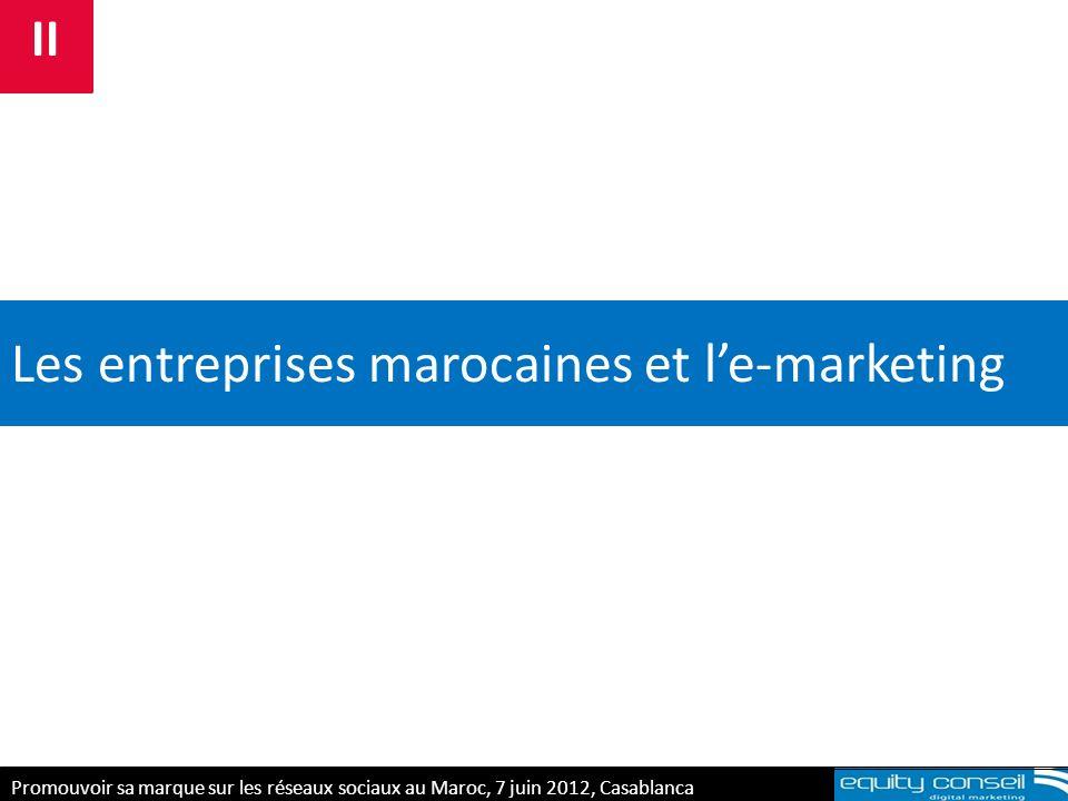 Les entreprises marocaines et l'e-marketing