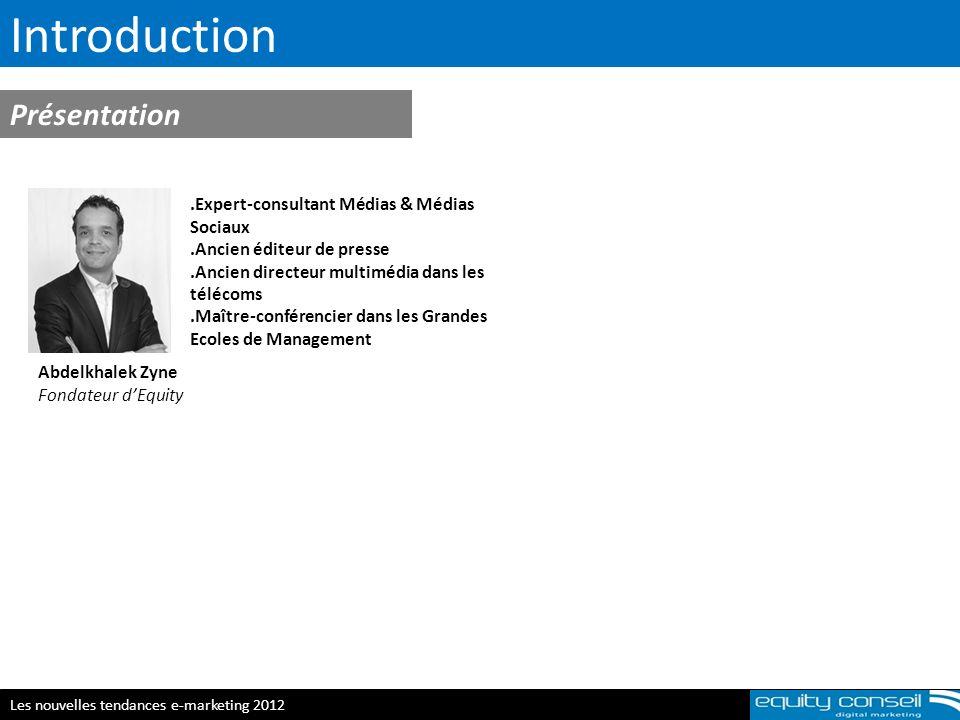 Introduction Présentation .Expert-consultant Médias & Médias Sociaux